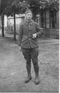 Father in the Foreign Legion, Maurice Hoch, La Valbonne, 5 October 1939