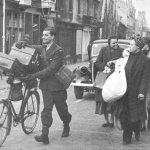 Bath : a group of evacuees